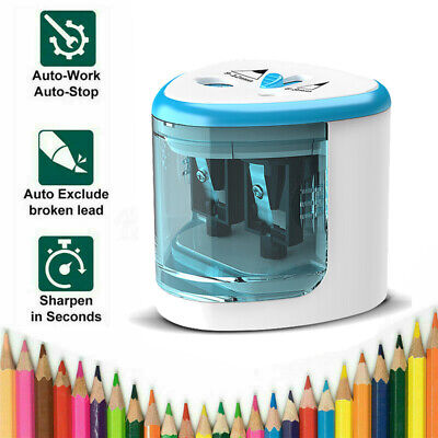 £6.99 • Buy NEW Pencil Sharpener Electric Automatic Battery Operated School Stationery