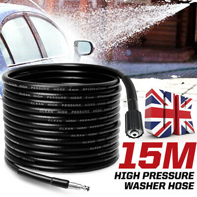 £21.39 • Buy 15M High Pressure Car Washer Cleaning Water Hose Extension Tube For VAX 130bar