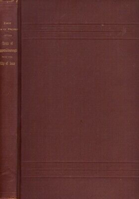 £40.66 • Buy City Of Saco City Council / First Book Of Records Of The Town 1896 Genealogy
