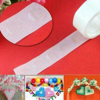 £1.89 • Buy 100 Adhesive Glue Dots Double Sided Tape Sticky Sticker DIY Balloon Clear Decor
