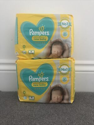 £13.95 • Buy 2x Pampers Premium Protect Micro Size 0 Newborn Nappies Pack Size 24 X 2 =48
