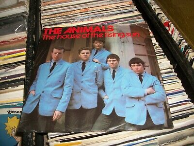 £2.49 • Buy The Animals- The House Of The Rising Sun Vinyl 7  45rpm Ps