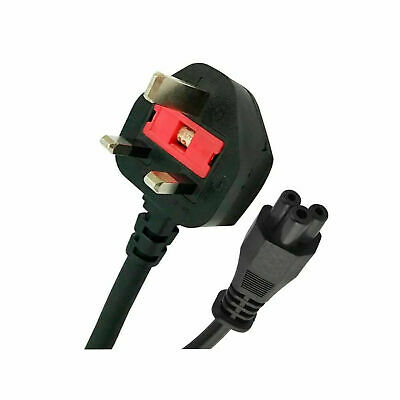 £2.99 • Buy UK Cloverleaf 1.8M Power Cord 3 Pin Mains Cable