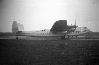 £3.50 • Buy C A T, Avro York, ZS-DGN, LARGE Size NEGATIVE