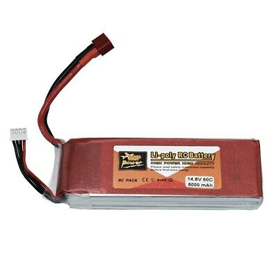 AU56.98 • Buy 14.8V 4S 5000mAh Lipo Battery Deans Softcase Deans RC For Racing Car Truck Drone