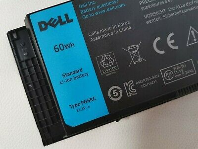 $34.99 • Buy OEM 60Wh PG6RC Battery For Dell Precision M4600 M4700 M6600 M6700 312-1176 FV993