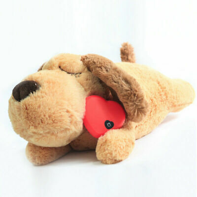 £12.56 • Buy Puppy Toy With Heartbeat Soft Plush Puppies Sleeping Buddy Behavioral Aid Toy UK