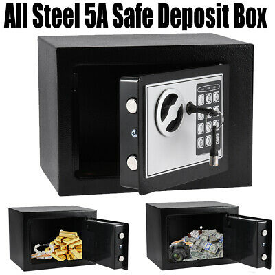 £21.83 • Buy Electronic Password Security Safe Money Cash Deposit Box Office Home Safety