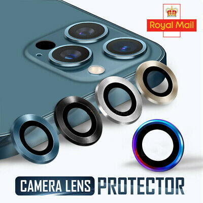 £4.99 • Buy For IPhone 12 11 Pro Max Back Cover Camera Lens Protective Ring Case Protector