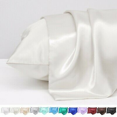 AU11.82 • Buy 2-4Pack Satin Pillowcase For Hair&Skin Queen Size,Satin Pillowcase With Envelope