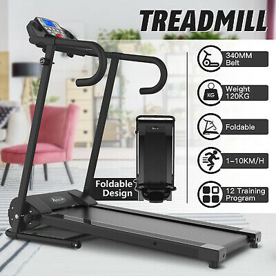 AU359.90 • Buy Electric Treadmill Foldable Home Gym Incline Exercise Machine Fitness Equipment