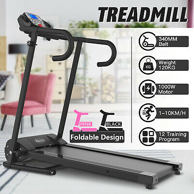 AU359.90 • Buy Electric Treadmill Incline Running Machine Fitness Equipment Exercise Home Gym