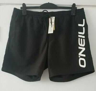 £24.99 • Buy O'Neill Mens Cali Swim Board Shorts Black Out  New Size XL 38 In Waist