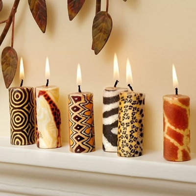 £14 • Buy Ethnic Mini Candles - Fairtrade And Ethical Candle Set