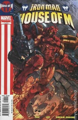 $2.10 • Buy Iron Man House Of M 1A LEE 1st Printing FN 2005 Stock Image