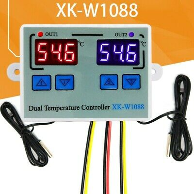 £9.81 • Buy 1Pc Thermostat Temperature Controller -50 To 110 ° C Home Heating Programmable