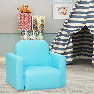 £49.99 • Buy 3 In 1 Kids Mini Sofa Table Chair Set Armchair Relax Seat Toddlers 2 Colours New