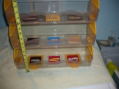 $99 • Buy M & M, Snickers & More Candy Store  Plastic Display Counter   Rack  Free Ship