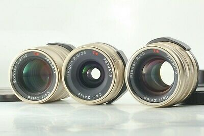 $ CDN995.91 • Buy 【Excellent+++++】 Contax Carl Zeiss T* 28mm 45mm 90mm For G1 G2 From Japan #195