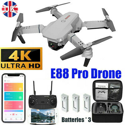 £30.99 • Buy 2021 Drone RC Drones Pro 4K HD Camera GPS WIFI FPV Quadcopter Foldable Bag Gifts