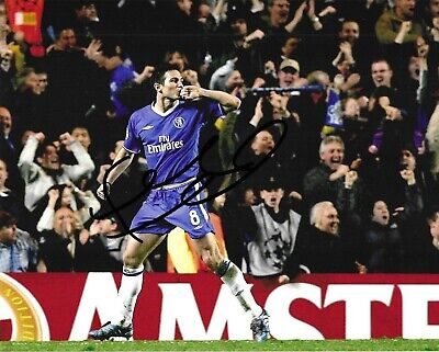 £39.99 • Buy STUNNING FRANK LAMPARD SIGNED CHELSEA FC 10x8 GLOSSY PHOTO1
