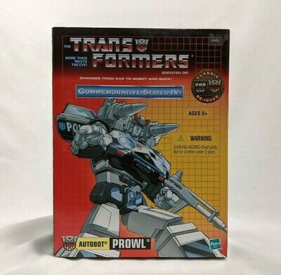 £53.23 • Buy Transformers Commemorative Series IV AUTOBOT PROWL G1 Action Figure Reissue