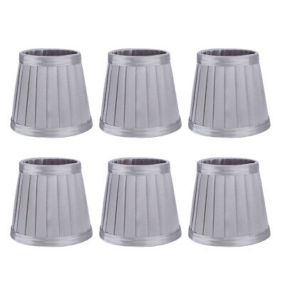 £12.61 • Buy 6Pcs Bedroom Cloth Fabric Lampshade Lamp Cover Shade For E14 Chandelier Wall HG