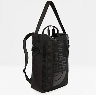 £74.99 • Buy The North Face Base Camp 3 Carrying Options Tote/Shoulder/Backpack-TNF Black 19L