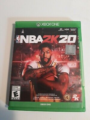 $ CDN11.99 • Buy NBA 2K20 For Xbox One - Complete With Manual 🇨🇦