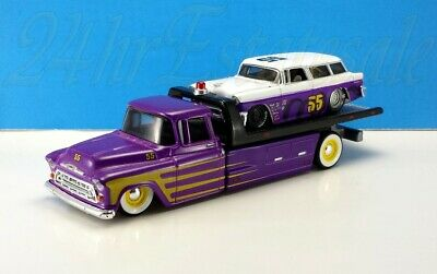 $19.95 • Buy Maisto 1957 Chevy Flatbed Elite Transport With 1955 Nomad Nice & Loose✅itout!