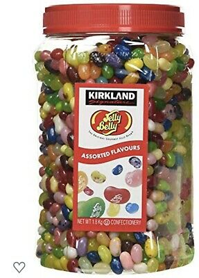 £26.49 • Buy American Jelly Belly Beans 1.8kg Jar Of Sweets Mix Assorted Flavours