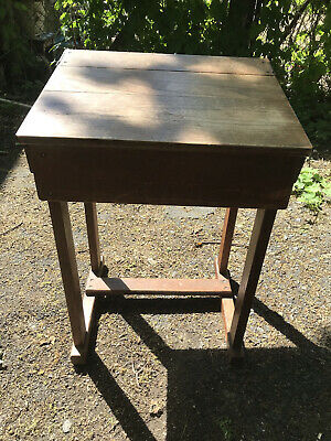 £80 • Buy Solid Vintage Well-Made Wooden School Desk COLLECTION: S.E. LONDON