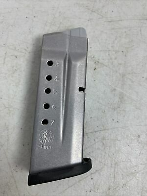 $29.99 • Buy Smith & Wesson M&P Shield 9mm 7 Round Magazine OEM Factory Self Defense