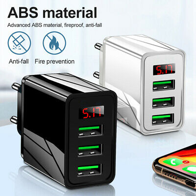 AU8.10 • Buy Adapter Fast Charging Wall Charger QC 3.0 Hub For IPhone 12 Pro Max Samsung S21