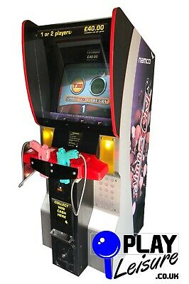 £1495 • Buy Namco's Aim For Cash Arcade Machine - Ready To Play - Games Room Point Blank