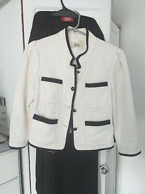 £12 • Buy M&S Tweed Jacket - Cc Chanel Style In Size 10