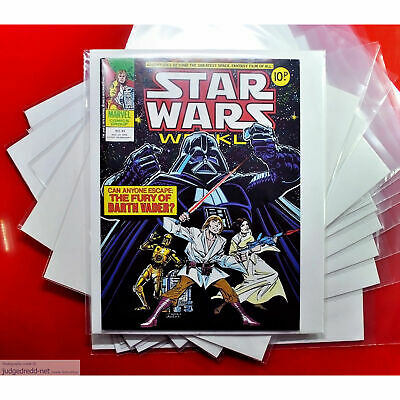 £15 • Buy Star Wars Comic Bags / Sleeves Only - For Comic Book Issue Fan Collections X 50