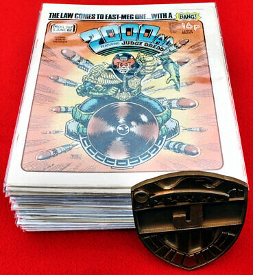 £15 • Buy 2000AD COMIC PROG BAGS / Sleeves Size2. For Judge Dredd Collections X 50 Pack .