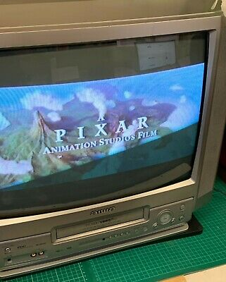 """£64.99 • Buy Aiwa 20"""" TV VIDEO COMBI - VX-D2120 CRT Retro Gaming Combo VHS TESTED & WORKING"""
