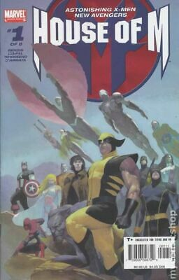 $9.20 • Buy House Of M 1A Ribic FN- 5.5 2005 Stock Image Low Grade