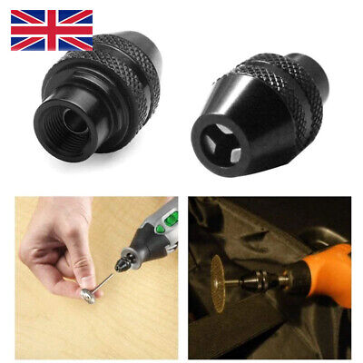 £3.99 • Buy Multi Chuck Quick Change Adapter Drill Bit For Dremel Rotary Accessories Tool UK