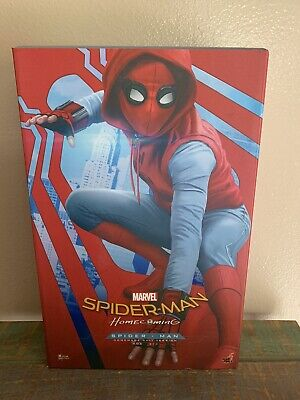$ CDN453.17 • Buy Hot Toys 1/6 Spider-Man Homecoming Homemade Suit Version Action Figure! MMS414!