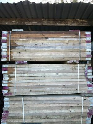 £18 • Buy Reclaimed Scaffold Boards - 6ft Long | 60mm Thick