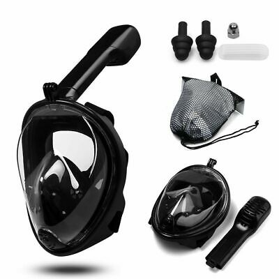 AU27.99 • Buy Full Face Diving Seaview Snorkel Snorkeling Mask Swimming Goggles For GoPro AU