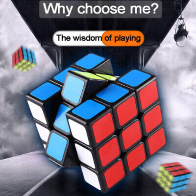 £5.69 • Buy Rubiks Cube 3x3x3 Speed Magic Cube  Durable Smooth Game Classic Puzzle @UK