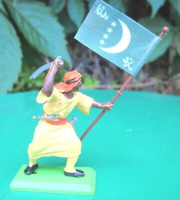 £2.75 • Buy Britains Deetail Arab Tribesmen - Conversion With Banner