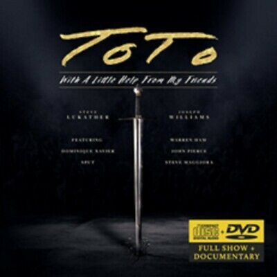 £14.99 • Buy Toto - With A Little Help From My Friends - CD/DVD - Pre Order - 25th June
