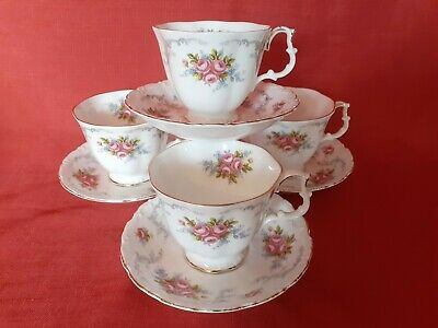 £29.99 • Buy Set Of Four Royal Albert Tranquillity Tea Cups & Saucers...1 St Quality