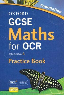 £2.57 • Buy Oxford GCSE Maths For OCR Foundation Practice Book And CD-ROM: Specification A-