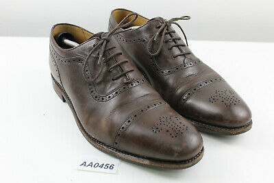 £34.95 • Buy CHARLES TYRWHITT Brown Leather Oxford Shoes Size Uk 12